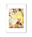 ALBUM-L-0062. Carta di riso album per decoupage.