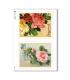 FLOWERS_0290. Papel de Arroz victoriano flores para decoupage.