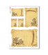 FLOWERS_0295. Carta di riso vittoriana fiori per decoupage.