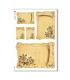 FLOWERS_0295. Papel de Arroz victoriano flores para decoupage.