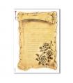 FLOWERS_0294. Carta di riso vittoriana fiori per decoupage.