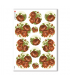 FLOWERS_0296. Carta di riso vittoriana fiori per decoupage.