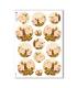 FLOWERS_0297. Papel de Arroz victoriano flores para decoupage.