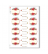 FLOWERS_0304. Carta di riso vittoriana fiori per decoupage.