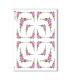 FLOWERS_0305. Carta di riso vittoriana fiori per decoupage.