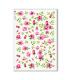 FLOWERS_0307. Carta di riso vittoriana fiori per decoupage.