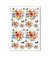 FLOWERS_0308. Carta di riso fiori per decoupage.