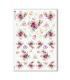 FLOWERS_0309. Carta di riso fiori per decoupage.