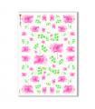 FLOWERS_0311. Carta di riso fiori per decoupage.