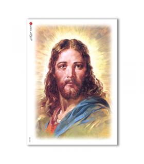CULT-0030. Papel de Arroz sacras para decoupage.