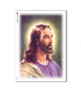 CULT-0034. Papel de Arroz sacras para decoupage.