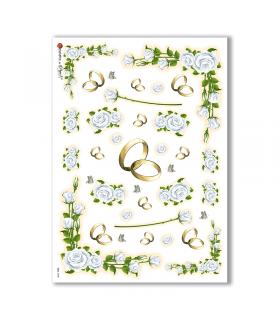 CULT-0038. Carta di riso sacra per decoupage.