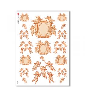 CULT-0089. Carta di riso sacra per decoupage.