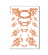 CULT-0090. Carta di riso sacra per decoupage.