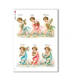 CULT-0114. Carta di riso sacra per decoupage.