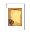 ALBUM-L-0009. Carta di riso album per decoupage.