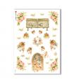 CULT-0119. Carta di riso sacra per decoupage.