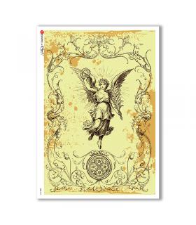 CULT-0121. Carta di riso sacra per decoupage.