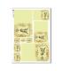 CULT-0122. Carta di riso sacra per decoupage.