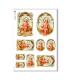 CULT-0123. Papel de Arroz sacras para decoupage.
