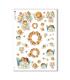 CULT-0125. Carta di riso sacra per decoupage.