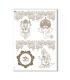 CULT-0133. Papel de Arroz sacras para decoupage.