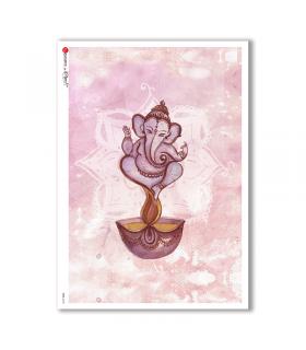 CULT-0134. Carta di riso sacra per decoupage.