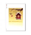 ALBUM-L-0094. Rice Paper album for decoupage.