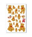 ANIMALS-0047. Carta di riso animali per decoupage.