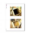 ALBUM-S-0008. Carta di riso album small per decoupage