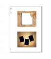 ALBUM-S-0012. Rice paper album small for decoupage.