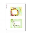 ALBUM-S-0016. Rice paper album small for decoupage.