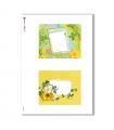 ALBUM-S-0017. Carta di riso album small per decoupage