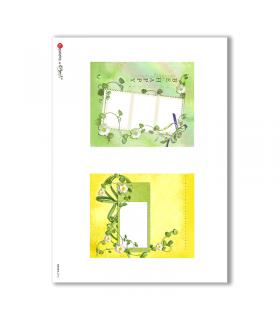 ALBUM-S-0018. Rice paper album small for decoupage.