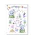 ANIMALS-0076. Carta di riso animali per decoupage.