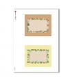 ALBUM-S-0036. Carta di riso album small per decoupage