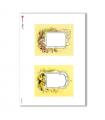 ALBUM-S-0043. Rice paper album small for decoupage.