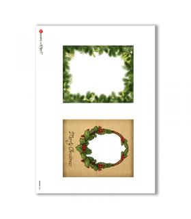 ALBUM-S-0046. Rice paper album small for decoupage.
