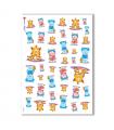 BABY-0002. Carta di riso bambini per decoupage.