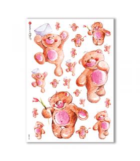 BABY-0020. Papel de Arroz niños para decoupage