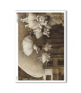 ARTWORK-0013. Carta di riso opere d'arte per decoupage.