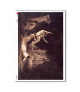 ARTWORK-0015. Artwork Rice Paper for decoupage.