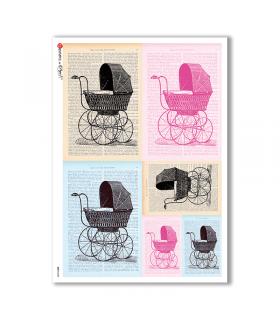 BABY-0030. Papel de Arroz niños para decoupage