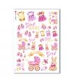 BABY-0038. Carta di riso bambini per decoupage.