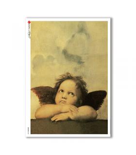 ARTWORK-0032. Carta di riso opere d'arte per decoupage.