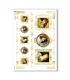 ARTWORK-0033. Carta di riso opere d'arte per decoupage.