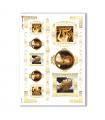 ARTWORK-0034. Carta di riso opere d'arte per decoupage.