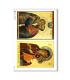 ARTWORK-0040. Papel de Arroz obras de arte para decoupage.