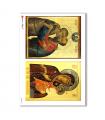 ARTWORK-0040. Carta di riso opere d'arte per decoupage.