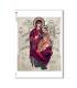 ARTWORK-0045. Papel de Arroz obras de arte para decoupage.